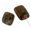 Red Creek Jasper 30x40mm Rectangle 4Pcs Approx